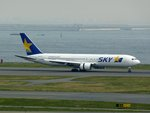 あるてーぬさんが、羽田空港で撮影したスカイマーク 767-38E/ERの航空フォト(写真)