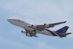 たろさんが、関西国際空港で撮影したタイ国際航空 747-4D7の航空フォト(写真)