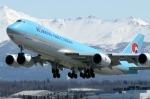 テッドスティーブンズ・アンカレッジ国際空港 - Ted Stevens Anchorage International Airport [ANC/PANC]で撮影された大韓航空 - Korean Air [KE/KAL]の航空機写真