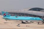 たろさんが、関西国際空港で撮影した大韓航空 747-4B5の航空フォト(写真)