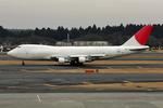 ヨルダンさんが、成田国際空港で撮影した日本航空 747-246F/SCDの航空フォト(写真)