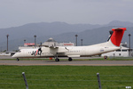 妄想竹さんが、松本空港で撮影した日本エアコミューター DHC-8-402Q Dash 8の航空フォト(写真)