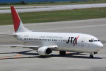 EDDYさんが、那覇空港で撮影した日本トランスオーシャン航空 737-4Q3の航空フォト(写真)