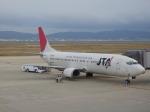 コウさんが、関西国際空港で撮影した日本トランスオーシャン航空 737-4Q3の航空フォト(写真)