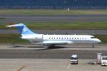 hiroki_h2さんが、羽田空港で撮影したボツワナ国防軍 BD-700-1A10 Global Expressの航空フォト(写真)