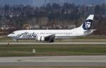 Koenig117さんが、バンクーバー国際空港で撮影したアラスカ航空 737-4Q8の航空フォト(写真)