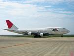 yanaさんが、中部国際空港で撮影した日本航空 747-346の航空フォト(写真)