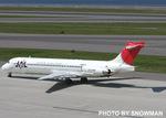 snowmanさんが、中部国際空港で撮影した日本航空 MD-87 (DC-9-87)の航空フォト(写真)