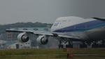 pepeA330さんが、福岡空港で撮影した全日空 747-481(D)の航空フォト(写真)
