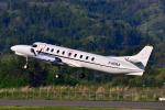 フリューゲルさんが、福島空港で撮影したブライトリング・ジェット・チーム SA-227AC Metro IIIの航空フォト(写真)