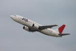 ANAのジャンボさんが、関西国際空港で撮影した日本トランスオーシャン航空 737-4Q3の航空フォト(写真)