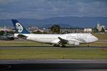 Gambardierさんが、名古屋飛行場で撮影したニュージーランド航空 747-4F6の航空フォト(写真)