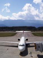 Lazonaさんが、松本空港で撮影した日本航空 MD-87 (DC-9-87)の航空フォト(写真)