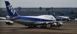 たぁきぃさんが、羽田空港で撮影した全日空 747-481(D)の航空フォト(写真)