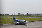 zeroさんが、宮古空港で撮影した日本トランスオーシャン航空 737-4Q3の航空フォト(写真)