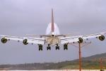 安芸あすかさんが、グアム国際空港で撮影した日本航空 747-446の航空フォト(写真)