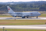 meijeanさんが、成田国際空港で撮影した日本航空 747-246Fの航空フォト(写真)