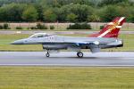 Tomo-Papaさんが、フェアフォード空軍基地で撮影したデンマーク空軍 F-16AM Fighting Falconの航空フォト(写真)