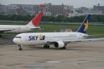 コバトンさんが、福岡空港で撮影したスカイマーク 767-38E/ERの航空フォト(写真)