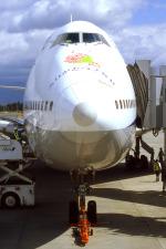 WING_ACEさんが、鹿児島空港で撮影した全日空 747SR-81の航空フォト(写真)