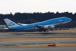 Koenig117さんが、成田国際空港で撮影したKLMオランダ航空 747-406の航空フォト(写真)