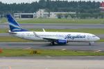 Tomo-Papaさんが、成田国際空港で撮影したヤクティア・エア 737-8Q8の航空フォト(写真)
