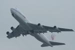 yanaさんが、関西国際空港で撮影した日本航空 747-221F/SCDの航空フォト(写真)