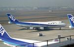 tsubameさんが、羽田空港で撮影した全日空 747SR-81の航空フォト(写真)