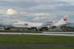 さっしんさんが、名古屋飛行場で撮影した日本航空 747-246Fの航空フォト(写真)