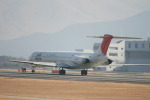 コバトンさんが、熊本空港で撮影したJALエクスプレス MD-81 (DC-9-81)の航空フォト(写真)