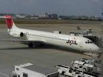 コバトンさんが、福岡空港で撮影した日本航空 MD-87 (DC-9-87)の航空フォト(写真)