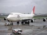 たぁさんが、羽田空港で撮影した日本航空 747-146B/SR/SUDの航空フォト(写真)