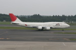 コバトンさんが、成田国際空港で撮影した日本航空 747-446の航空フォト(写真)