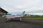 E-75さんが、スカイポート美唄で撮影した個人所有 PA-46-310P Malibuの航空フォト(写真)