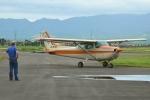 E-75さんが、スカイポート美唄で撮影した北海道フライトサービス 172P Skyhawkの航空フォト(写真)