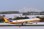 安芸あすかさんが、女満別空港で撮影した日本航空 A300B2K-3Cの航空フォト(写真)