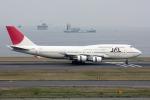 やつはしさんが、羽田空港で撮影した日本航空 747-446Dの航空フォト(写真)