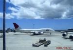 モヒカンさんが、ホノルル国際空港で撮影した日本航空 747-446Dの航空フォト(写真)