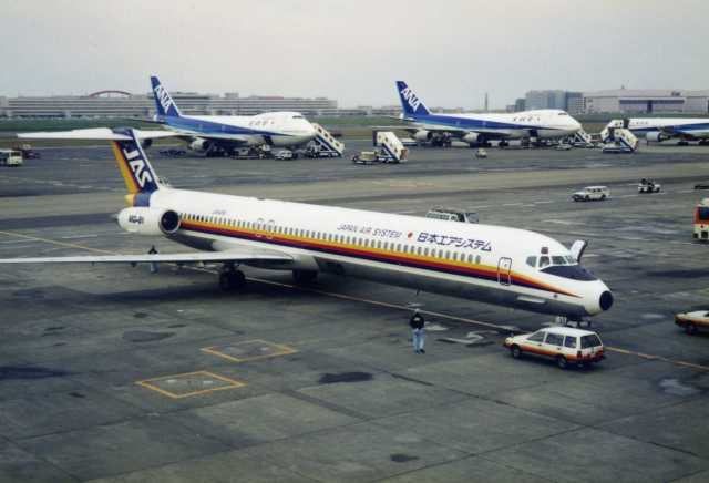 日本エアシステム McDonnell Douglas MD-80 (DC-9-80) JA849