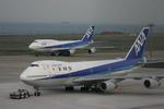 Kabaさんが、羽田空港で撮影した全日空 747SR-81の航空フォト(写真)
