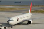 Kabaさんが、神戸空港で撮影した日本航空 767-346の航空フォト(写真)