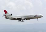 たぁさんが、関西国際空港で撮影した日本航空 MD-11の航空フォト(写真)