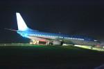 ポンタさんが、新潟空港で撮影した大韓航空 737-9B5の航空フォト(写真)