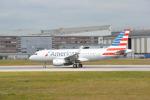 こずぃろうさんが、ハンブルク・フィンケンヴェルダー空港 で撮影したアメリカン航空 A319-112の航空フォト(写真)