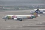 タイ国際航空さんが、羽田空港で撮影したソラシド エア 737-43Qの航空フォト(写真)