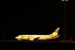iwatobiさんが、新千歳空港で撮影したソラシド エア 737-43Qの航空フォト(写真)