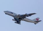 tsubameさんが、関西国際空港で撮影した日本航空 747-346の航空フォト(写真)