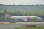 Cygnus00さんが、新千歳空港で撮影したソラシド エア 737-43Qの航空フォト(写真)