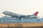フリューゲルさんが、成田国際空港で撮影した日本航空 747-246B(SF)の航空フォト(写真)