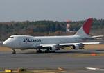 tsubameさんが、成田国際空港で撮影した日本航空 747-246F/SCDの航空フォト(写真)